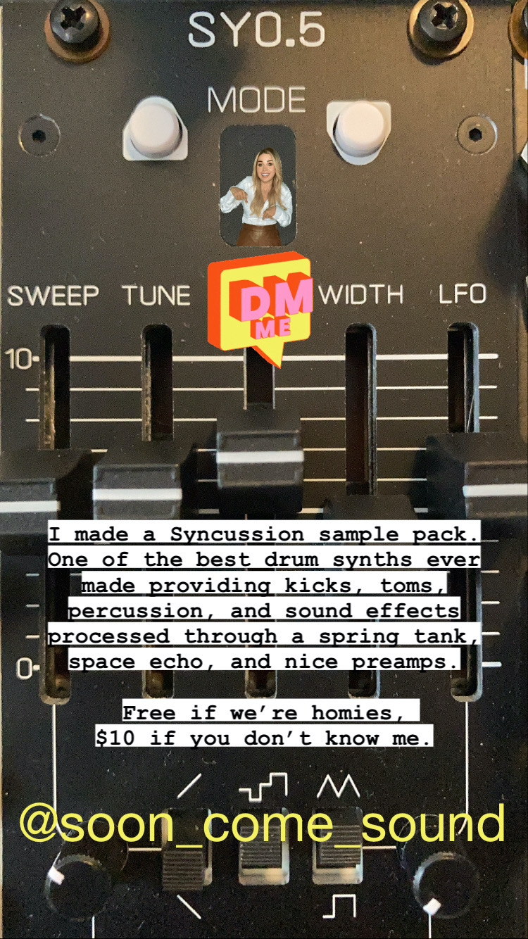 Syncussion Sample Pack